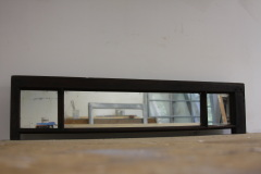 Triple Pane Side Panel With Thick Antique Mirror Glass